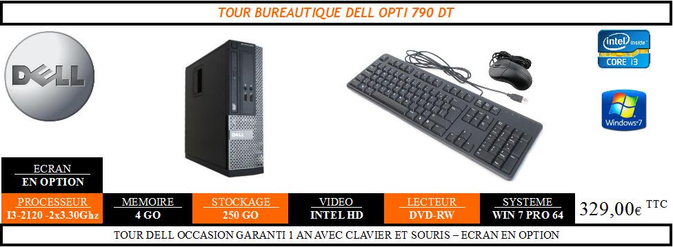 PC Dell Optiplex 790DT Occasion